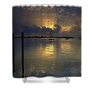 Keys Sunset IIi Shower Curtain