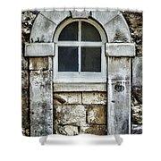 Keystone Window Shower Curtain by Heather Applegate
