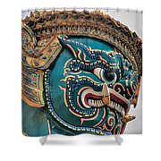 Khmer Guard Shower Curtain