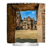Khmer Temple Shower Curtain