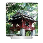 Khue Van Cac Gate Shower Curtain