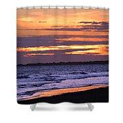 Kiawah Sunset Shower Curtain