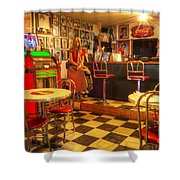 Kickin On Route 66 Shower Curtain