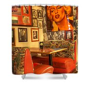 Kicking On Route 66 Shower Curtain
