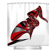 Kicky Heels By Jammer Shower Curtain