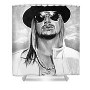 Kid Rock Shower Curtain