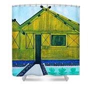Kiddie House Shower Curtain