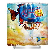 Kiddography Cover By Tom Kidd Shower Curtain