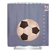 Kids And Soccer Shower Curtain