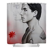 Kiedis Apache Soul Shower Curtain