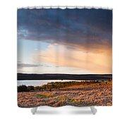 Kielder At Sunset Shower Curtain
