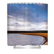 Kielder Dam Shower Curtain