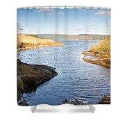 Kielder Water Inlet Shower Curtain