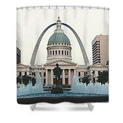 Kiener Plaza - St Louis Missouri Shower Curtain