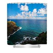 Kilauea Lighthouse Shower Curtain