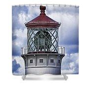 Kilauea Point Lighthouse Hawaii Shower Curtain
