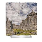 Kilchurn Castle 02 Shower Curtain