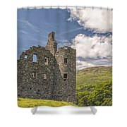Kilchurn Castle 03 Shower Curtain