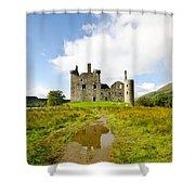 Kilchurn Castle 2 Shower Curtain