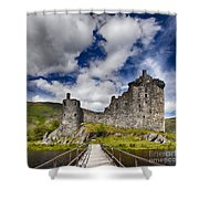 Kilchurn Castle Scotland Shower Curtain