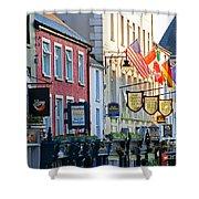 Killarney Ireland Storefronts 7690 Shower Curtain