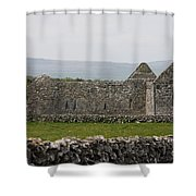 Kilmacduagh Church Ruin Shower Curtain