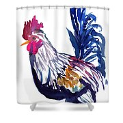 Kilohana Rooster Shower Curtain