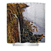 Kilt Rock Shower Curtain