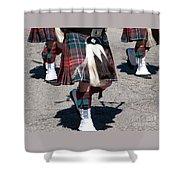 Kilts On Parade Shower Curtain