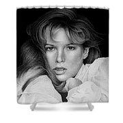 Kim Basinger Shower Curtain