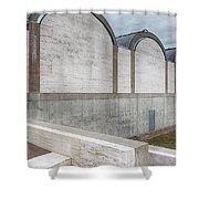 Kimbell Art Museum Fort Worth 3 Shower Curtain