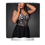 Kimberley8 Shower Curtain