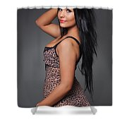 Kimberley9 Shower Curtain
