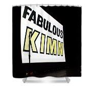 Kimn Radio Denver Colorado Shower Curtain