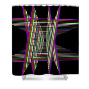 Kinetic Rainbow 16 Shower Curtain