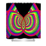 Kinetic Rainbow 27 Shower Curtain