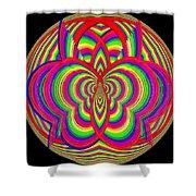 Kinetic Rainbow 28 Shower Curtain