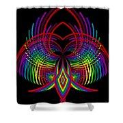 Kinetic Rainbow 30 Shower Curtain