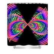 Kinetic Rainbow 38 Shower Curtain