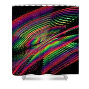 Kinetic Rainbow 43 Shower Curtain