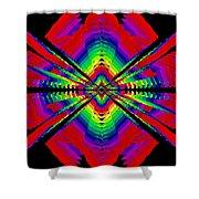 Kinetic Rainbow 44 Shower Curtain