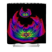Kinetic Rainbow 45 Shower Curtain