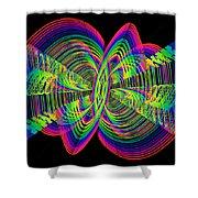 Kinetic Rainbow 55 Shower Curtain