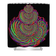 Kinetic Rainbow 67 Shower Curtain