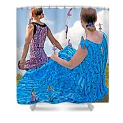 Kinetics  Shower Curtain