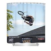 King Bmx 3 Shower Curtain