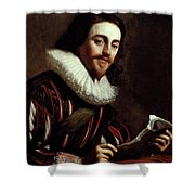 King Charles I Of England (1600-1649) Shower Curtain