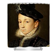 King Charles Ix Of France Shower Curtain