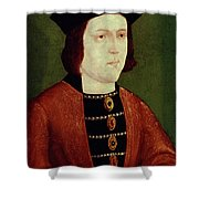 King Edward Iv Of England Shower Curtain