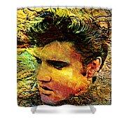King Elvis Shower Curtain